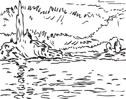 monet coloring pages water lilies simonschoolblog com